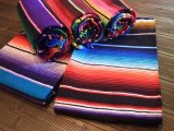 【SERCAL/サーカル】メキシコ製ラグマット(200cmx120cm)8色