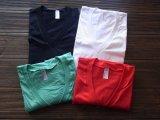 アメリカンアパレル【アメリカ製】100%コットンVネックTシャツ 4色 3サイズ(XS/S/M)