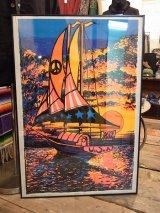 【ビンテージ】1971年製 【PEACEFUL SAIL】HIP PRODUCTS ポスター