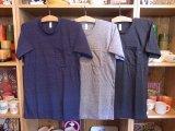 アメリカンアパレル【アメリカ製】霜降りポケットTシャツ 3色 3サイズ(XS/S/M)