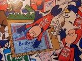 【1970年代・バドマン ステッカー / デッドストック】