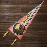 """【1960〜1970年代・スーベニア ペナント """"インディアンヘッド"""" / デッドストック】"""