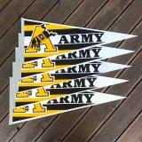 """【〜1980年代・ビンテージ・ ペナント """" U.S. ARMY / USアーミー """" / デッドストック】"""