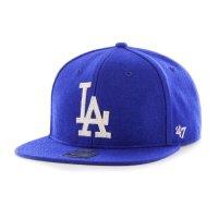 【 47 BRAND / 47ブランド 】LA DODGERS / ロサンゼルス ドジャース・ファウラー・キャプテン・ウールキャップ