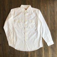 【CAMCO/カムコ・シャンブレー ワークシャツ】 ナチュラル・3サイズ(M/L/XL)