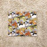 【コミックブック・ビンテージファブリック・パネル / ロイ・リキテンスタイン】1970s-1980s Roy Lichtenstein / BLAM & WHAAM / COMIC BOOK/ 35 X 30 cm