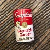 【(C)1977 CAMPBELL'S VEGETABLE GARDEN / COIN BANK 】ビンテージ / キャンベルスープ・貯金箱