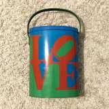 ビンテージ【ロバートインディアナ】1960'S - 1970'S LOVE / TIN CAN / メタルカン